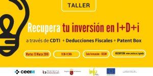 CEEIM-Inversion-I+D+i-Taller-2018